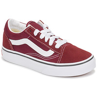 Chaussures Enfant Baskets basses Vans UY OLD SKOOL Bordeaux