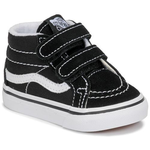 Vans TD SK8-MID REISSUE V Noir / Blanc - Chaussures Basket ...