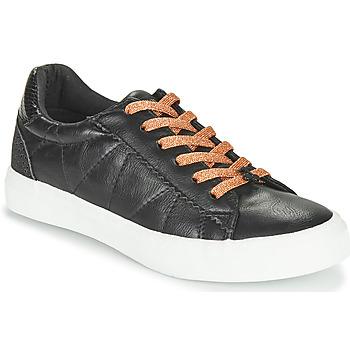 Chaussures Femme Baskets basses Le Temps des Cerises VIC Noir