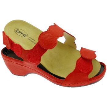 Chaussures Femme Sandales et Nu-pieds Calzaturificio Loren LOE687ro rosso