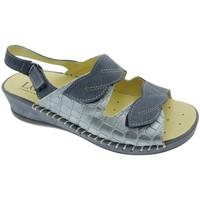 Chaussures Femme Sandales et Nu-pieds Calzaturificio Loren LOM2817bl blu
