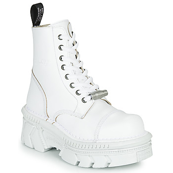 Chaussures Boots New Rock  Blanc