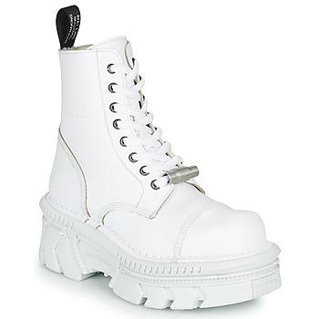 Chaussures Boots New Rock M-MILI083CM-C56 Blanc