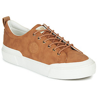 Chaussures Femme Baskets basses Palladium Manufacture STUDIO 02 Camel