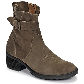 Chaussures Femme Bottines Palladium Manufacture MARGO 04 SUD Kaki