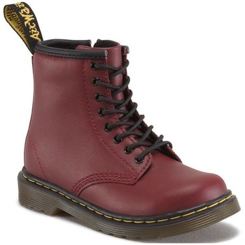 Chaussures Femme Boots Dr Martens 1460 T Softy T Cherry Red Softy T Rouge