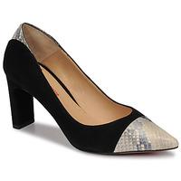 Chaussures Femme Escarpins Perlato JAMIRI Noir / Beige