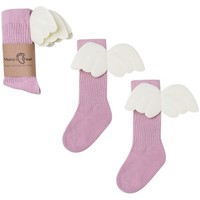 Sous-vêtements Fille Collants & bas Mama's Feet PINK ANGELS Rosa