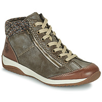 Chaussures Femme Boots Rieker L5223-24 Marron