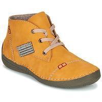 Chaussures Femme Boots Rieker 52543-69 Jaune