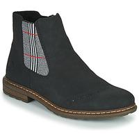 Chaussures Femme Boots Rieker 71072-02 Noir / Multicolore