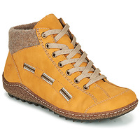 Chaussures Femme Boots Rieker  Jaune