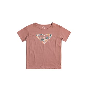 Vêtements Fille T-shirts manches courtes Roxy DAY AND NIGHT Rose