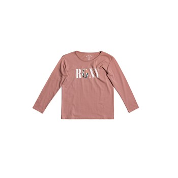 Vêtements Fille T-shirts manches longues Roxy THE ONE Rose