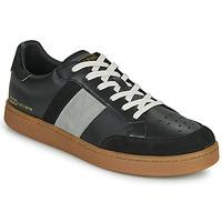 Chaussures Homme Baskets basses Serafini WIMBLEDON Noir / Gris