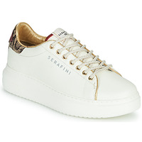 Chaussures Femme Baskets basses Serafini J.CONNORS Blanc / Python