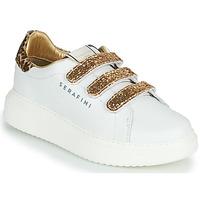Chaussures Femme Baskets basses Serafini J.CONNORS Blanc / Doré