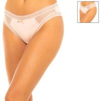 Sous-vêtements Femme Slips DIM Lot de 2 slips Rose