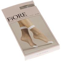 Sous-vêtements Femme Collants & bas Fiore Bas socquettes - BIANCO Blanc