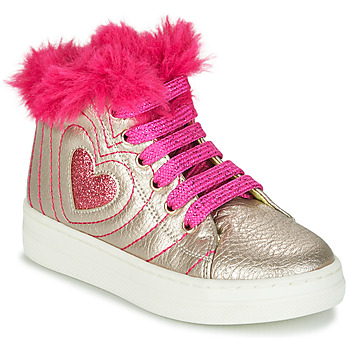 Chaussures Fille Baskets montantes Agatha Ruiz de la Prada BETTYZ Beige / Rose