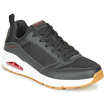 Chaussures Homme Baskets basses Skechers UNO FASTIME Noir