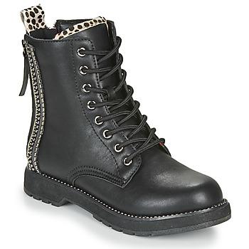 Chaussures Femme Boots Café Noir JAYTE Noir