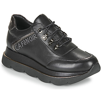 Chaussures Femme Baskets basses Café Noir JIZELE Noir