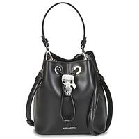 Sacs Femme Sacs porté épaule Karl Lagerfeld K/IKONIK BUCKET BAG Noir