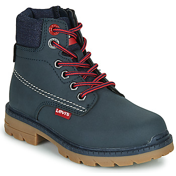 Chaussures Enfant Boots Levi's NEW FORREST Marine