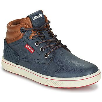 Chaussures Enfant Baskets montantes Levi's NEW PORTLAND Marine