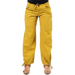 Vêtements Pantalons fluides / Sarouels Fantazia Pantalon hybride yoga zen Gemma Moutarde