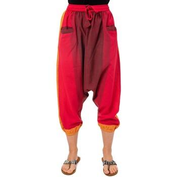 Vêtements Femme Pantacourts Fantazia Pantacourt bermuda sarouel rouge babacool mixte Orange