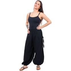 Vêtements Pantalons fluides / Sarouels Fantazia Pantalon aladin original Nessih Noir