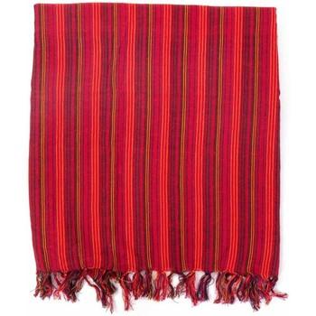 Accessoires textile Femme Echarpes / Etoles / Foulards Fantazia Foulard cheche rayures babacool rouge multi Rouge