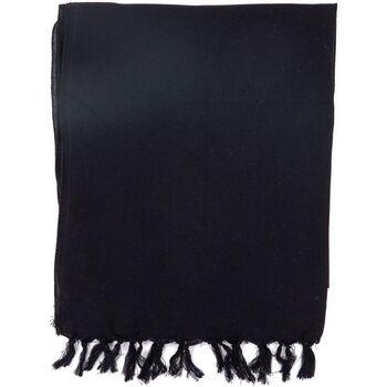 Accessoires textile Echarpes / Etoles / Foulards Fantazia Foulard doux mixte basic noir uni Noir