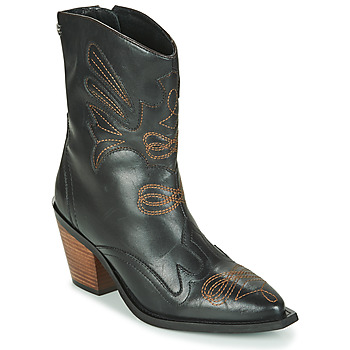 Chaussures Femme Bottines Gioseppo SERAING Noir / Marron