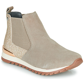 Chaussures Fille Baskets montantes Gioseppo LINZ Beige