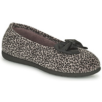 Chaussures Femme Chaussons Isotoner 97261 Leopard