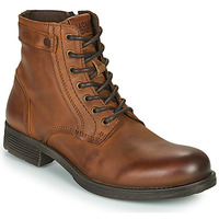 Chaussures Homme Boots Jack & Jones JFW ANGUS LEATHER Cognac
