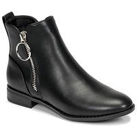 Chaussures Femme Boots Only BOBBY 22 PU ZIP BOOT Noir