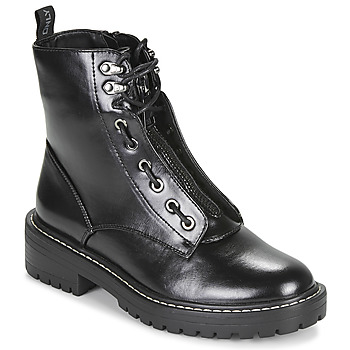 Chaussures Femme Boots Only BOLD 4 PU LACE UP BOOT Noir