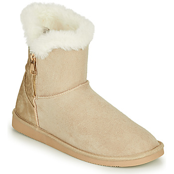Chaussures Femme Boots Only BREEZE 1 ZIP BOOT Beige