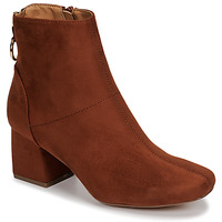 Chaussures Femme Bottines Only BILLIE-1 LIFE MF HEELED BOOT Cognac