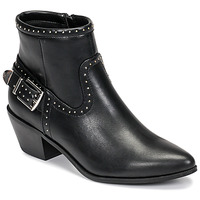 Chaussures Femme Bottines Only TOBIO-7 PU STUD BOOT Noir