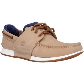 Chaussures Homme Chaussures bateau Timberland A242T Hegers Beige