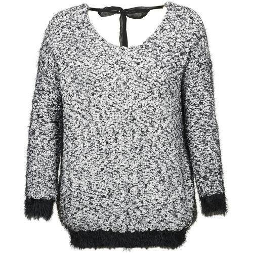 Vêtements Femme Pulls Kaporal SODA Blanc / Noir