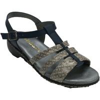 Chaussures Femme Sandales et Nu-pieds 48 Horas Sandales à lanières pour femmes azul