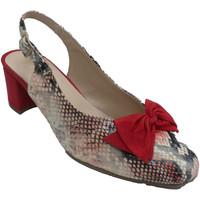 Chaussures Femme Escarpins Roldán Chaussure imprimée serpent à dos ouvert rojo