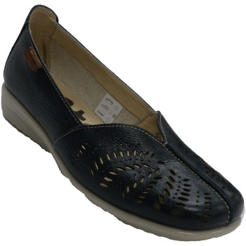 Chaussures Femme Mocassins 48 Horas Chaussure de repos fermée ajourée femme azul