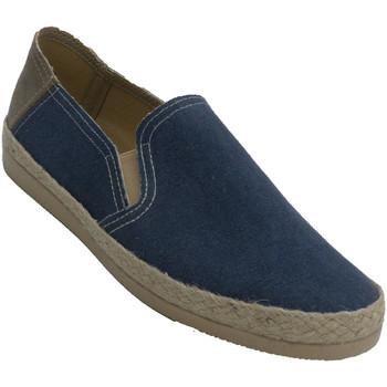 Chaussures Homme Espadrilles Made In Spain 1940 Baskets fermées en chanvre pour hommes A azul